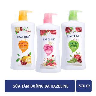 Sữa tắm hazeline 670ml