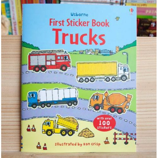 USBORNE STICKER BOOKS - TRUCKS