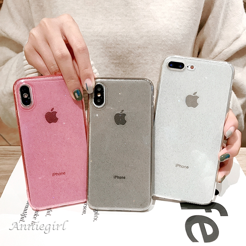 Ultra Thin Luxury Bling Glitter Soft Case for IPhone 11 Pro Max XR Xs Max 6s 8 7 Plus