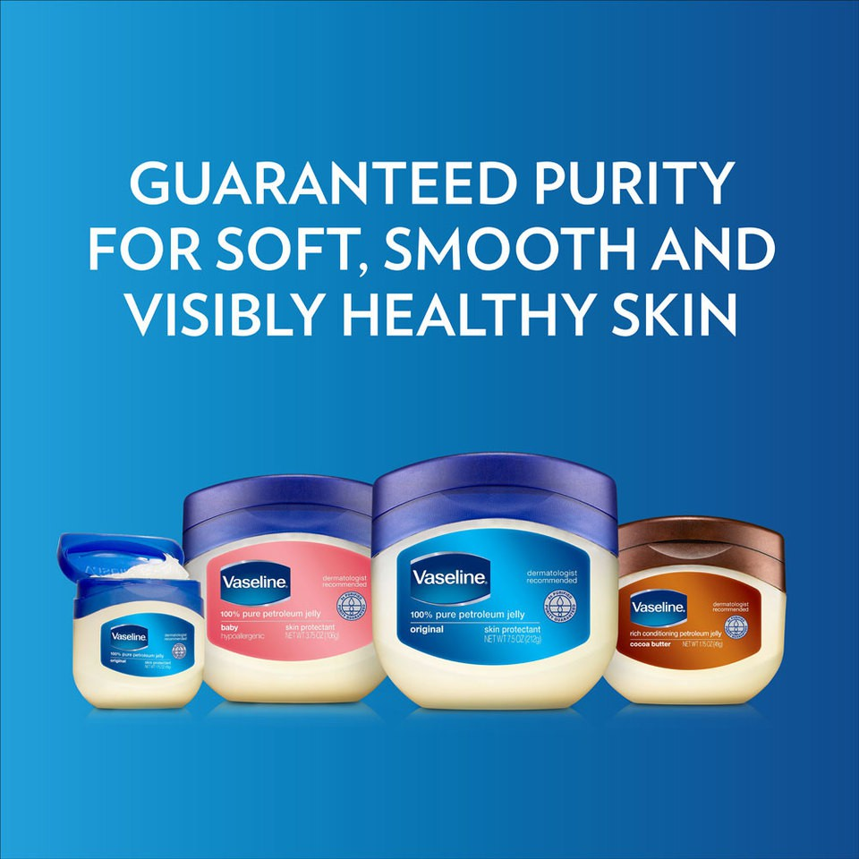 Son Dưỡng Môi Vaseline Pure Petroleum Jelly Original