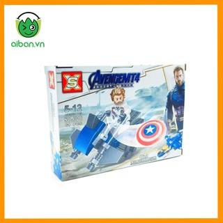 LEGO Marvel Siêu Anh Hùng Avengers + Tàu Vũ Trụ