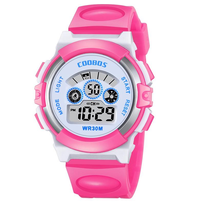 [Mã FAMAYFA2 giảm 10K đơn 50K] Đồng hồ trẻ em điện tử Coobos 0919