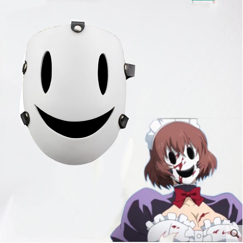 High-Rise Invasion Cosplay Mask Halloween Party Show Props Shinzaki Kuon Kamen Sky Invasion Decor Latex Scary Mask
