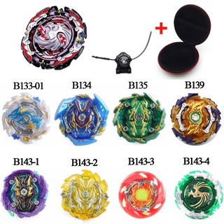 NEW Metal 4D Beyblade Burst METEO L-DRAGO with Launcher Spinning Top Toy Gift for kids