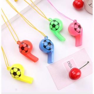 Còi thể thao có dây buộc - Còi trọng tài thể thao bằng nhựa nhiều màu sắc thumbnail