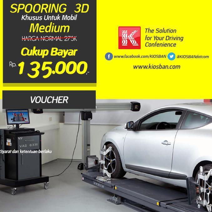 TERMUR4H!! Spooring 3D Mobil Type B (medium) Cuma 135.000 GOOD QU4LITY
