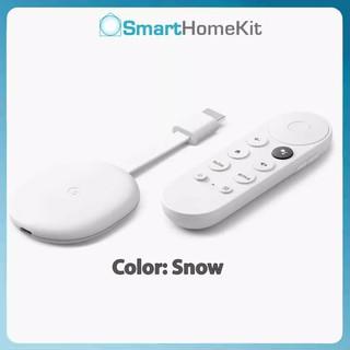 Google Chromecast with Google TV 2020 - chất lượng 4K HDR, có remote từ xa, điều khiển bằng giọng nói tiếng Việt