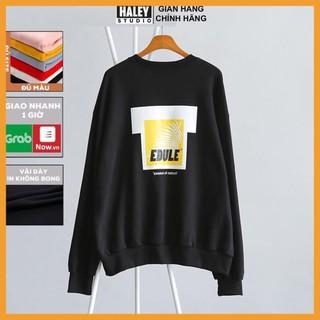💥FREESHIP💥 Áo Sweater Hoodie không cổ unisex phong cách Hàn Quốc, Chất nỉ cao cấp – Tặng vòng xinh