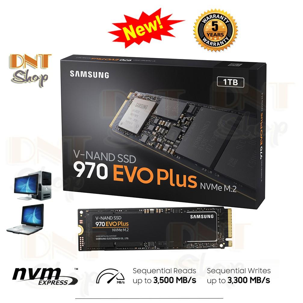 Ổ Cứng SSD Samsung 970 EVO Plus PCIe NVMe M.2 2280 1TB - 2019 Chính Hãng