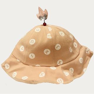 Mũ xòe gắn hình lá VEMZKIDS cho bé gái
