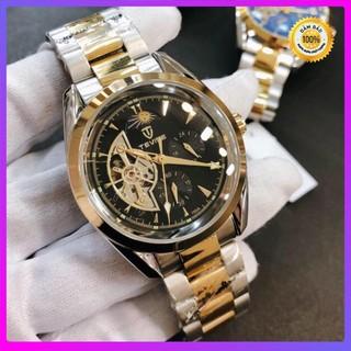 [Hàng xịn] Đồng hồ nam tevise chính hãng automatic 795A dây thép nguyên khối (tặng kèm hộp , phụ kiện thâu dây)