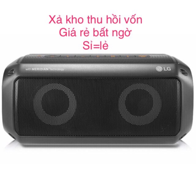 [Mã ELCE50K giảm 5% đơn 500] [Mã NOWSHIPT5VUI1 giảm 20k đơn 50k] Loa Bluetooth LG PK3 chính hãng giá rẻ...