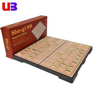 Bộ cờ shogi Nhật Bản có bàn cờ gập nam châm dành cho học sinh