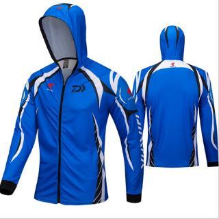 Áo khoác đi câu cá mau khô thoáng khí chống nắng thời trang 2020 DAIWA 3 màu