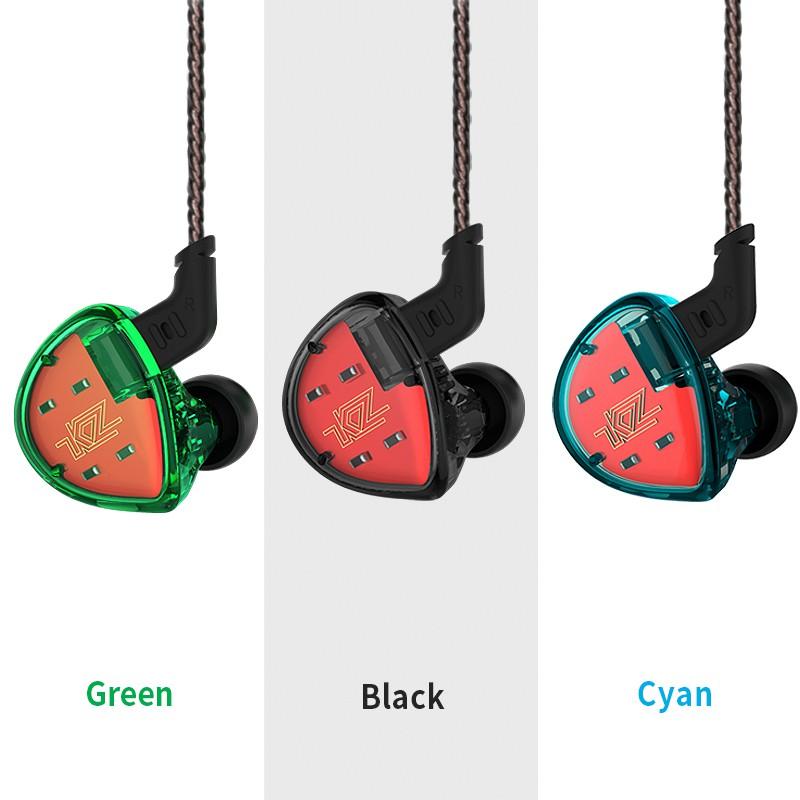 Set tai nghe nhét tai có dây cho người dùng nghiệp dư KZ ES4