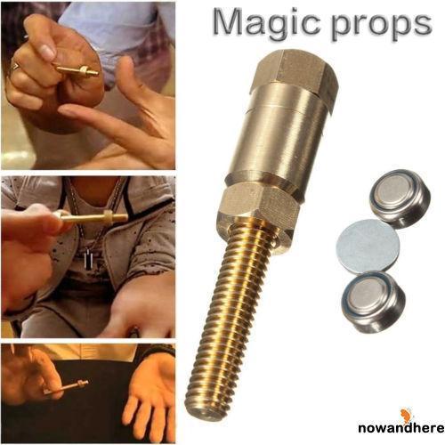 NEW-1 Set Magic Props Autorotation Rotating Nut Off Bolt Screw Close Up Gimmick