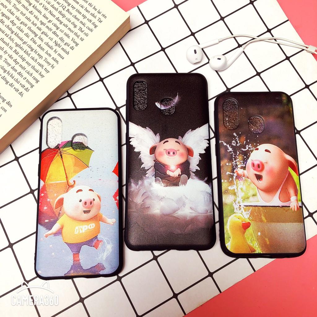 Ốp Samsung A40, M20, M30 dẻo in hình nổi 3D siêu đẹp
