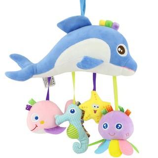 Đồ chơi và thú treo nôi,cũi cho bé – Cá heo