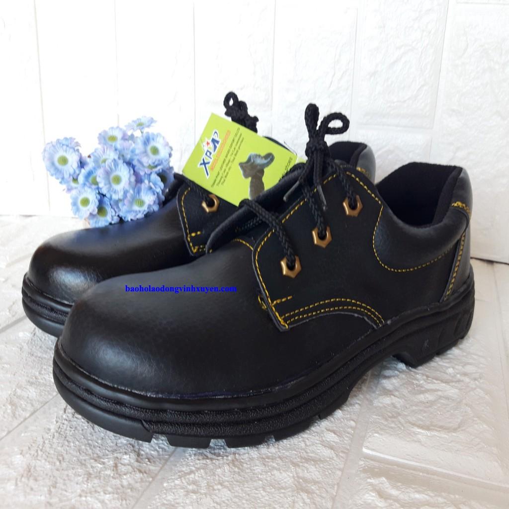 Giày Bảo Hộ Lao Động Nam ABC Mũi Sắt Chống Đinh Chống Va Dập Ngón