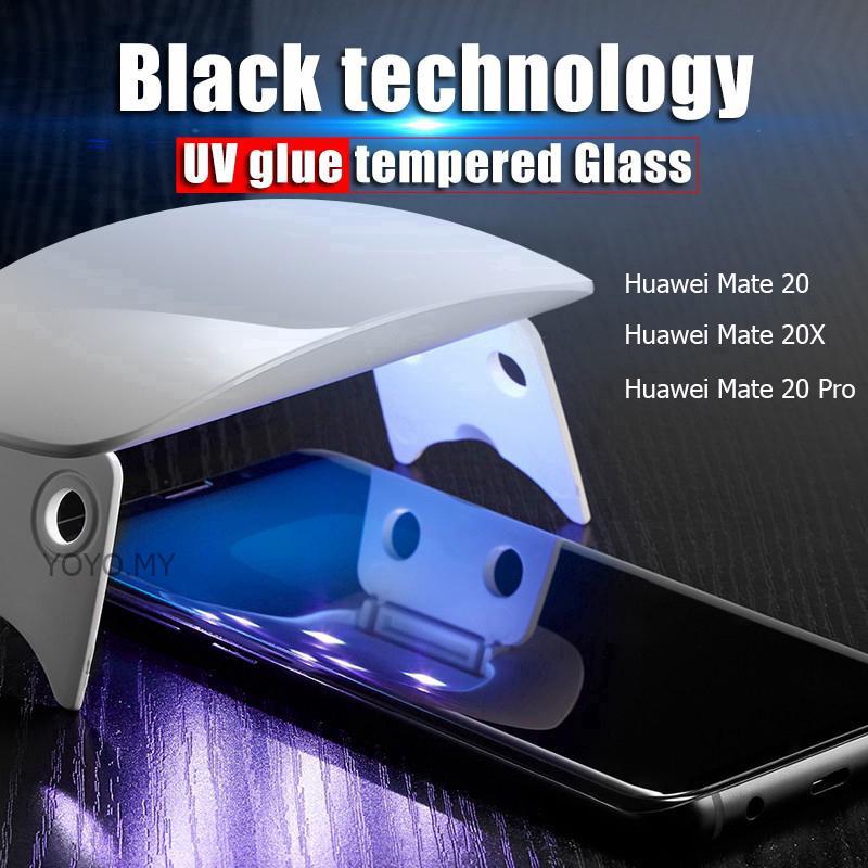Samsung Galaxy S10 Plus S10 UV Glue HD Clear Tempered Glass