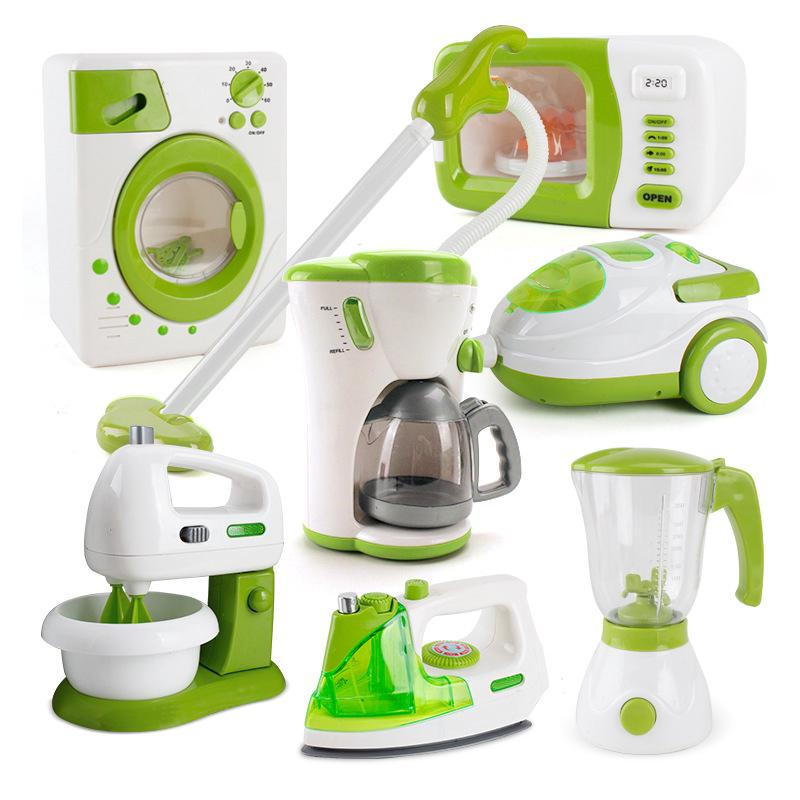 Baby Kid Early Education Pretend Play Kitchen Household Appliance Learning Toys