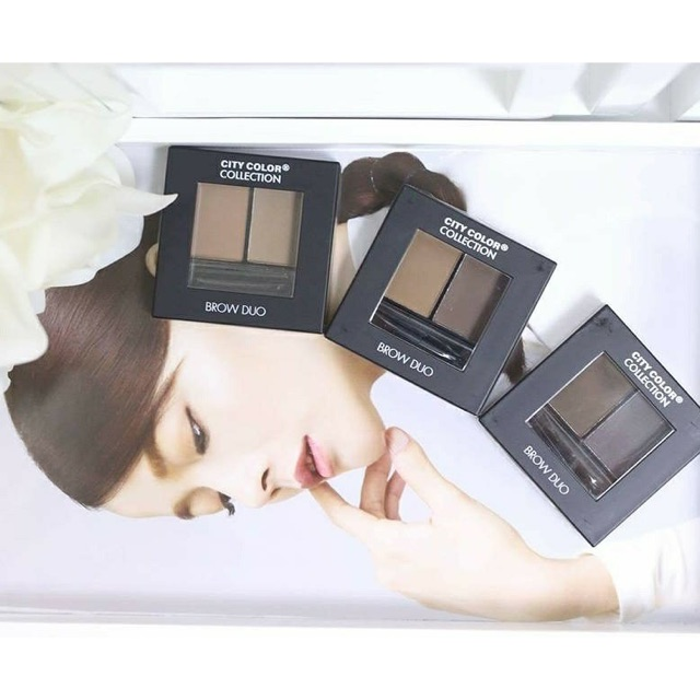 Bột tán mày City Color Brow Duo Eyebrow Powder