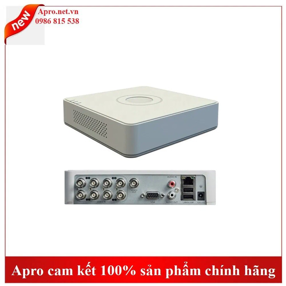 ĐẦU GHI TURBO DS-7108HQHI-F1/N HD DVR 8 KÊNH HIKVISION