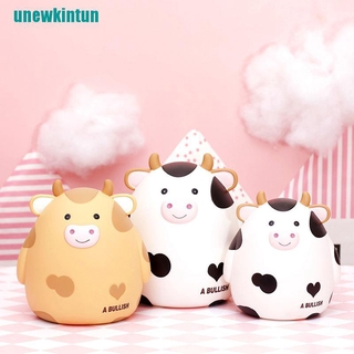 ❤Cartoon Cute Cows Shaped Piggy Bank Money Box Gifts For Coins Home Decoration