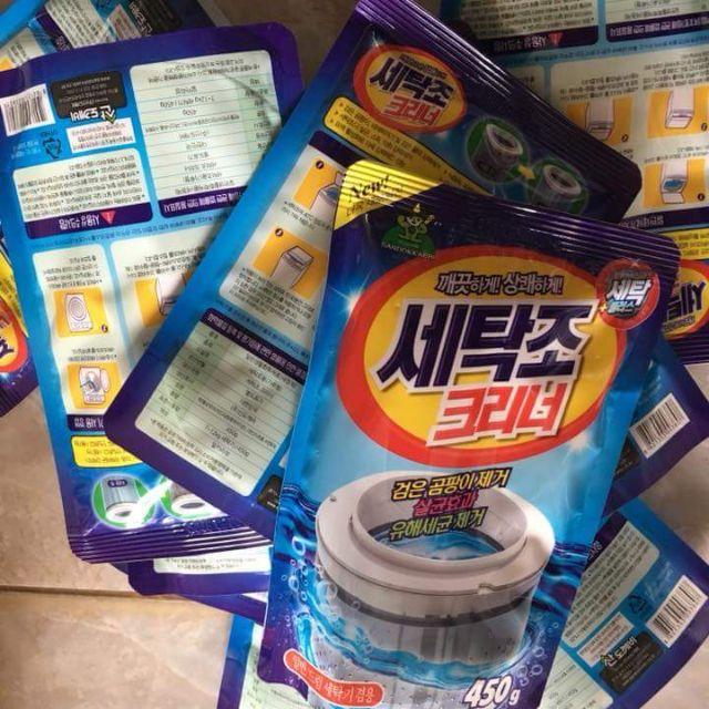 Bột tẩy lồng máy giặt lẻ 40k/gói