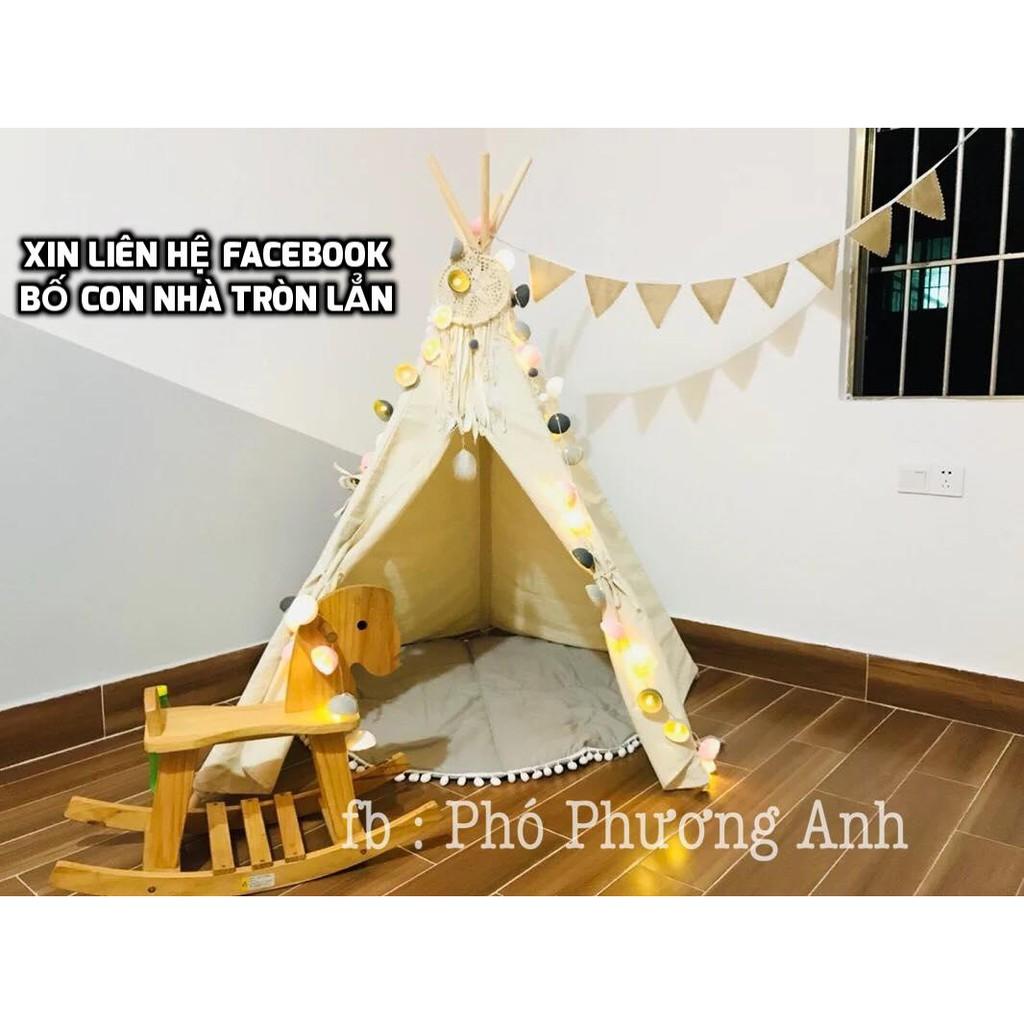 Lều vải cho bé - Lều Vải Cổ Tích - Lều Chụp Ảnh