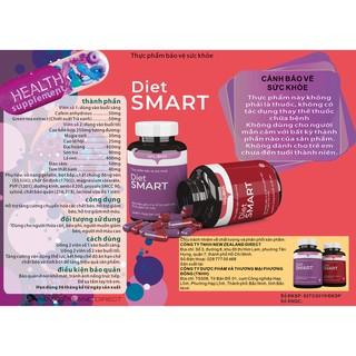 DIET SMART – Hỗ trợ Giảm 4-6kg trong vòng 14 ngày