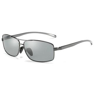 Mắt kính đổi màu thời trang A2458 – Gọng xám