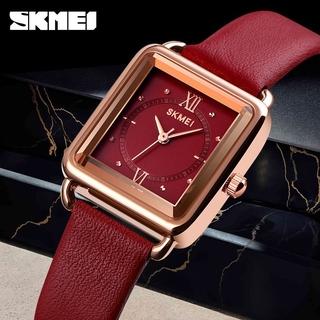 Đồng Hồ SKMEI 1702 Chuyển Động Thạch Anh Phong Cách Vintage Đính Đá Thời Trang Cho Nữ