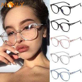 MOILY Women Men Anti Blue Rays Glasses Transparent Frame Optical Eyewear