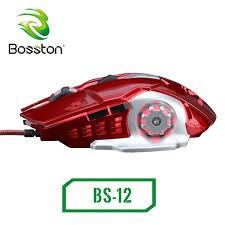 Chuột game có dây Bosston BS12 Led chuyên games.