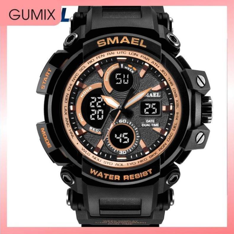 Đồng hồ nam 🔥FREESHIP 🔥 ĐỒNG HỒ THỂ THAO NAM SMAEL 1708 THỜI TRANG  - GUMIX