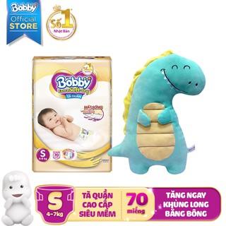 Hình ảnh [Nhập HAPPYBDAY -12% đơn 500K][Tặng khủng long bông] Tã quần cao cấp Bobby Extra Soft Dry S70/M64/L56/XL50/XXL46-0