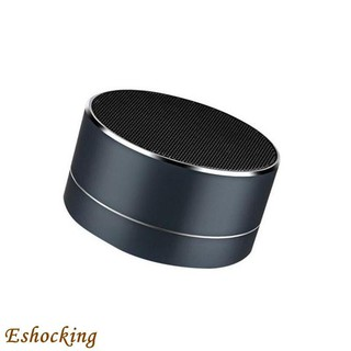 Wholesale A10 Metal Bluetooth Speaker Mobile Computer Subwoofer Mini Cannon Wire