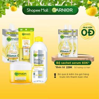 Bộ sản phẩm đặc biệt dưỡng sáng da mờ thâm chỉ từ 3 ngày Garnier Light Complete thumbnail