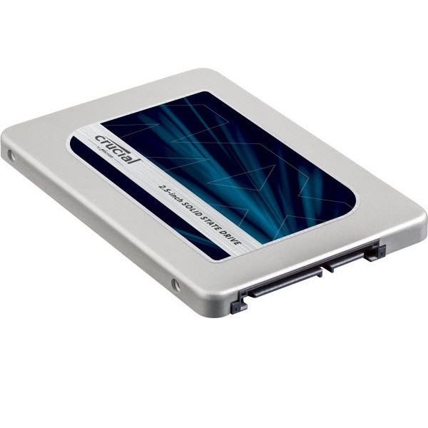 Ổ cứng SSD Crucial MX300 SATA III 2.5 Inch 525GB (Đen)
