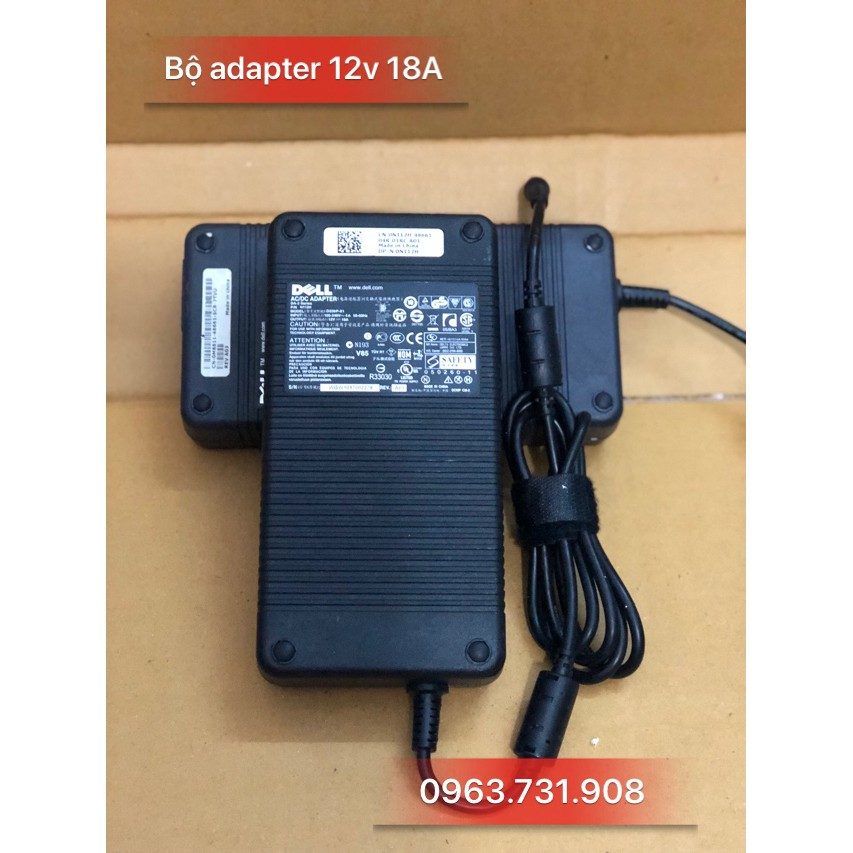 Adapter nguồn 12v 18A (xịn)