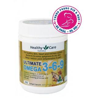 ( sale date 7 21 )Omega 3 6 9 Healthy Care Ultimate Của Úc (200 Viên) thumbnail