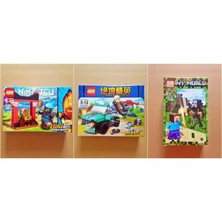 Non Lego tổng hợp 99561-1, 99562-1, 63028