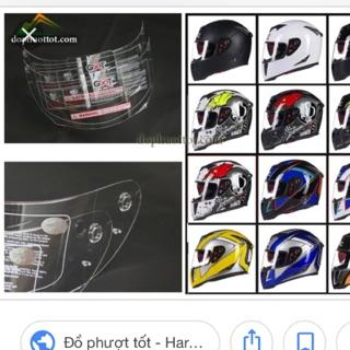 Kính mũ gxt 358-398 ( tặng kèm 1 khăn đa năng)