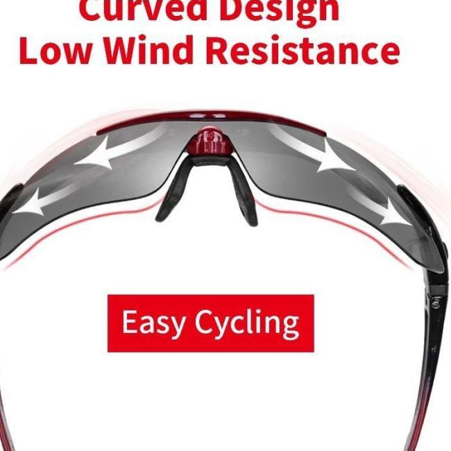 ̄➷ Kính đạp xe Rockbros 5 tròng phân cực plus cho nam và nữ