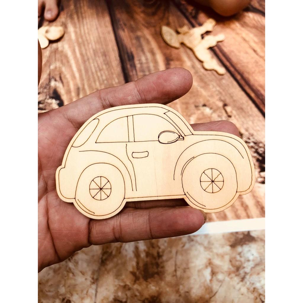 Đồ chơi cho bé – gỗ tô màu sáng tạo tăng trí tưởng tượng