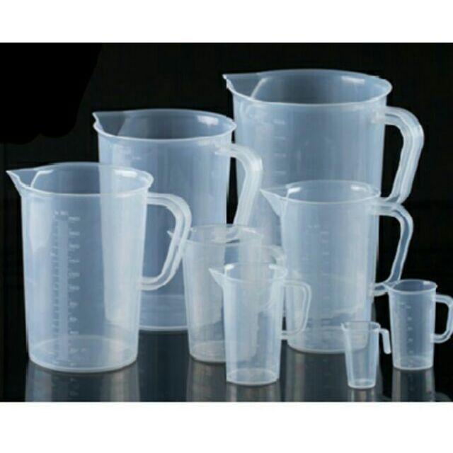 Ca đong có chia vạch nhựa các cỡ (từ 50 ml - 500 ml)