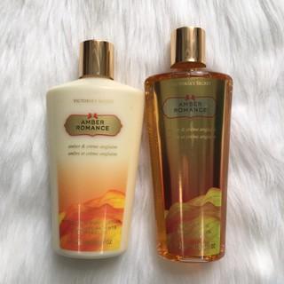 (USA, tách lẻ) Sữa tắm – Sữa Dưỡng Thể Victoria's Secret Amber Romance 250ml