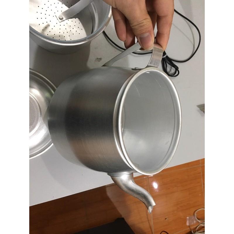 Phin cafe phin nhôm to phin pha cà phê 100gram - 200gram