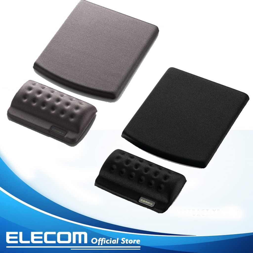 [Mã ELCLFEB giảm 7% đơn 500k]Bàn di chuột có kê cổ tay rời ELECOM MP-114